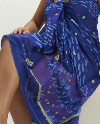 cotton sarong or beach wrap. Van Gogh island Aussie flag. great beach coverup