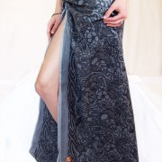 Sarong - Tattoo Grey Waist