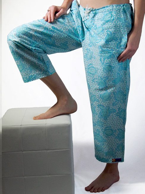 Beach Pant Turtle T2 Turquoise