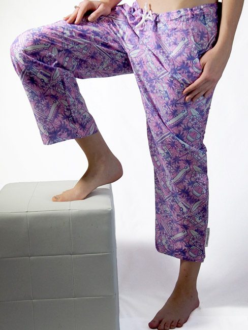 Beach Pant Combi Orchid