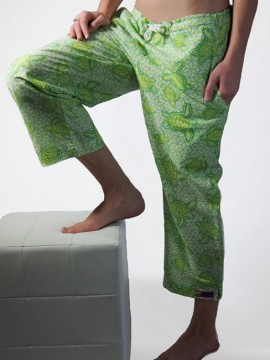 Beach Pant: Turtle T2 Lime